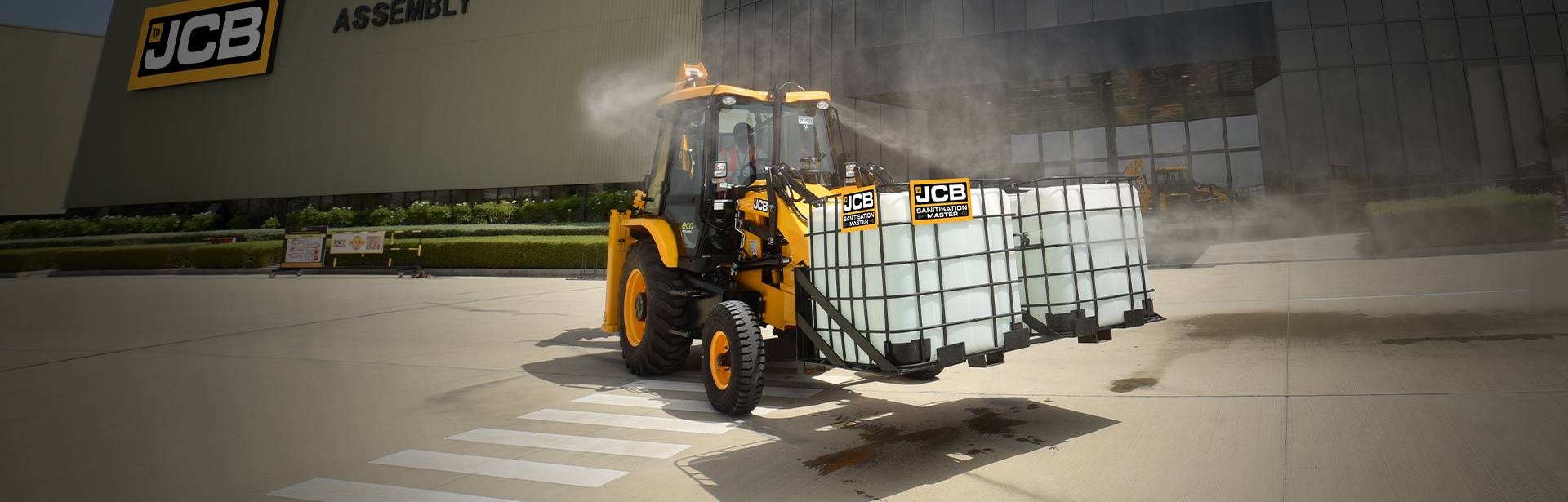 JCB SANITISATION MASTER Dhanbad Tradewings Earthmovers JCB